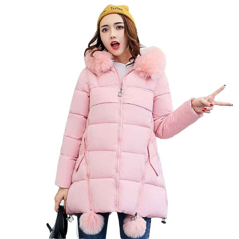 2017 New winter jacket women long cotton-padded hooded jacket parka female wadded jacket outerwear winter coat women winter jacket women 2017 fashion slim long cotton padded hooded jacket parka female wadded jacket outerwear winter coat women