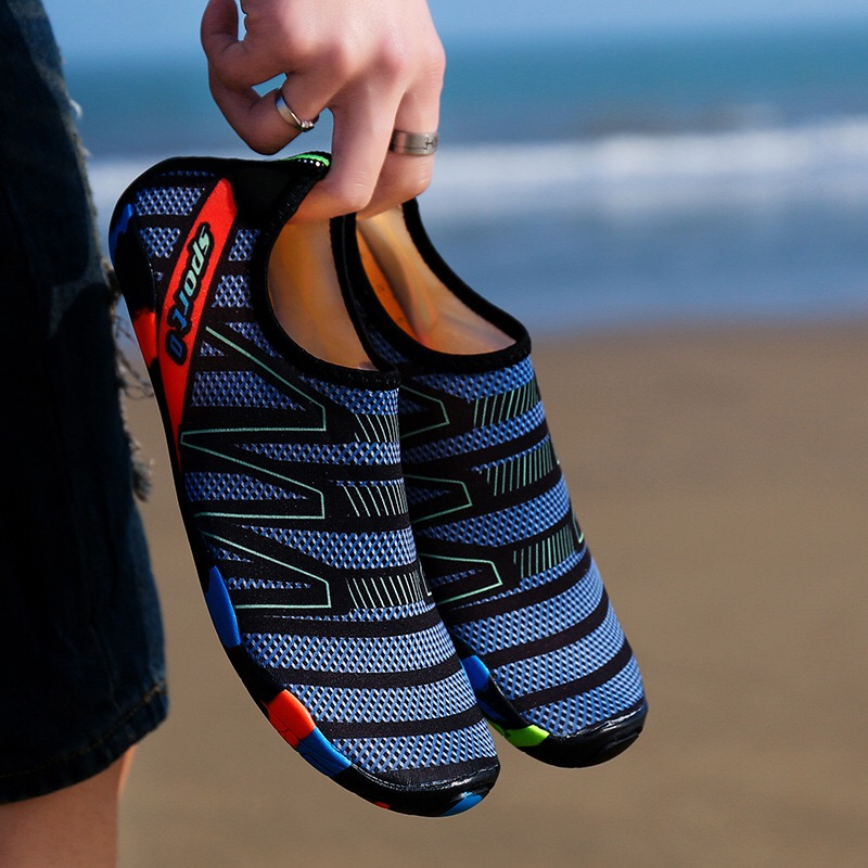 Aqua Seaside Beach Unisex Sneakers Swimming Shoes Water Sports Surfing Slippers Upstream Light Athletic Footwear For Men Women