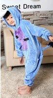 Hot Kids Unisex Animal Onesie Pajamas Cosplay Costume Onesie Sleepwear Donkey