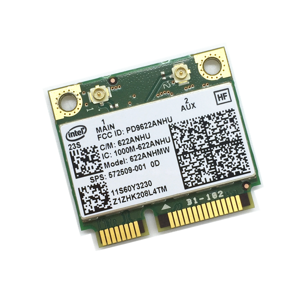 For Intel 6200 622ANHMW Wireless Card 300Mbps HP Lenovo 572509-001 60Y3231  T410 T410i T510 T510i W510 T410s X201 X201i X201s