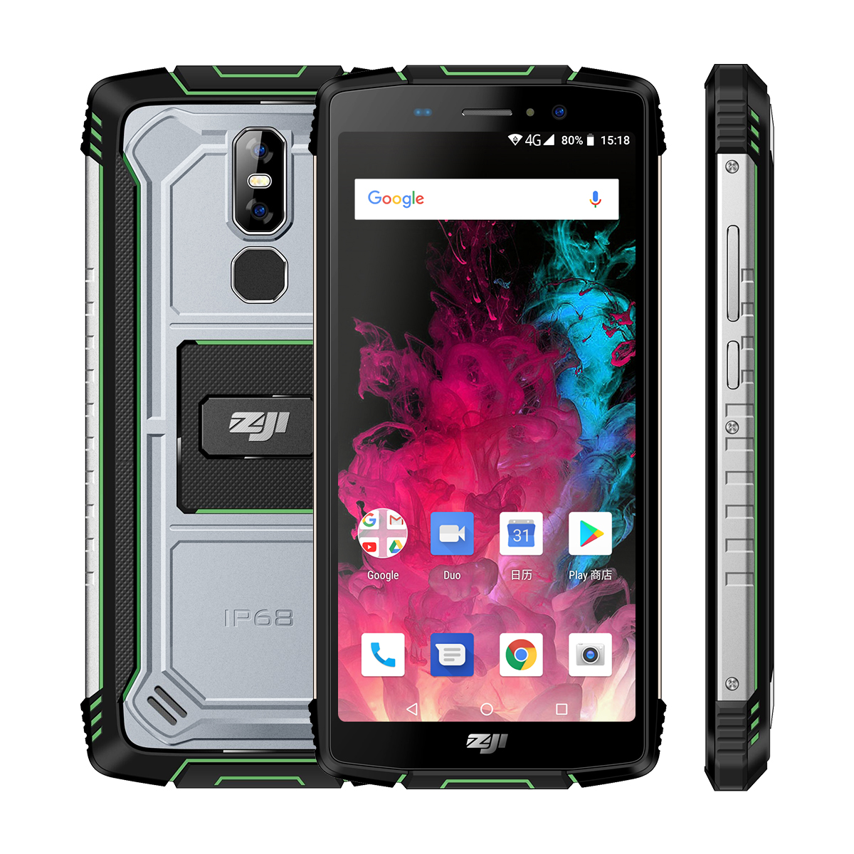 "HOMTOM ZOJI Z11 5.99"" 18:9 IP68 Waterproof Mobile 10000mAh Phone 4GB 64GB MTK6750T Octa Core Face Unlock 4G Android 8.1 Phone"