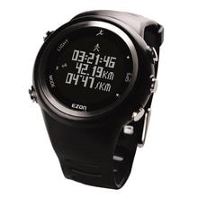 On slae Ezon sports watch male waterproof step meter multifunctional electronic watch luminous leisure T023