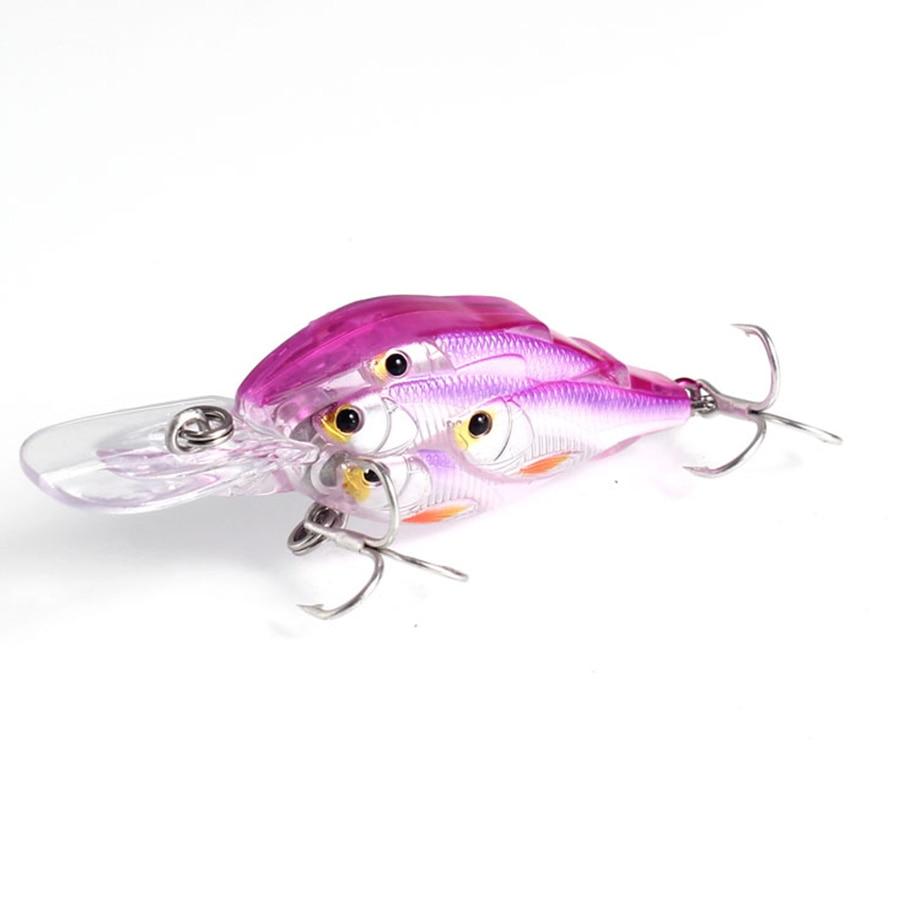 TUYA 5pcs / set Baitball Crankbait Wobblers Minnow Fishing Lure - თევზაობა - ფოტო 3