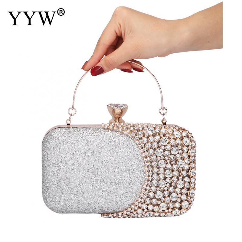 EROUGE Women Tassels Clutch Bag Evening Clutch Elegant Glitter Hardwearing Clutch Wallet
