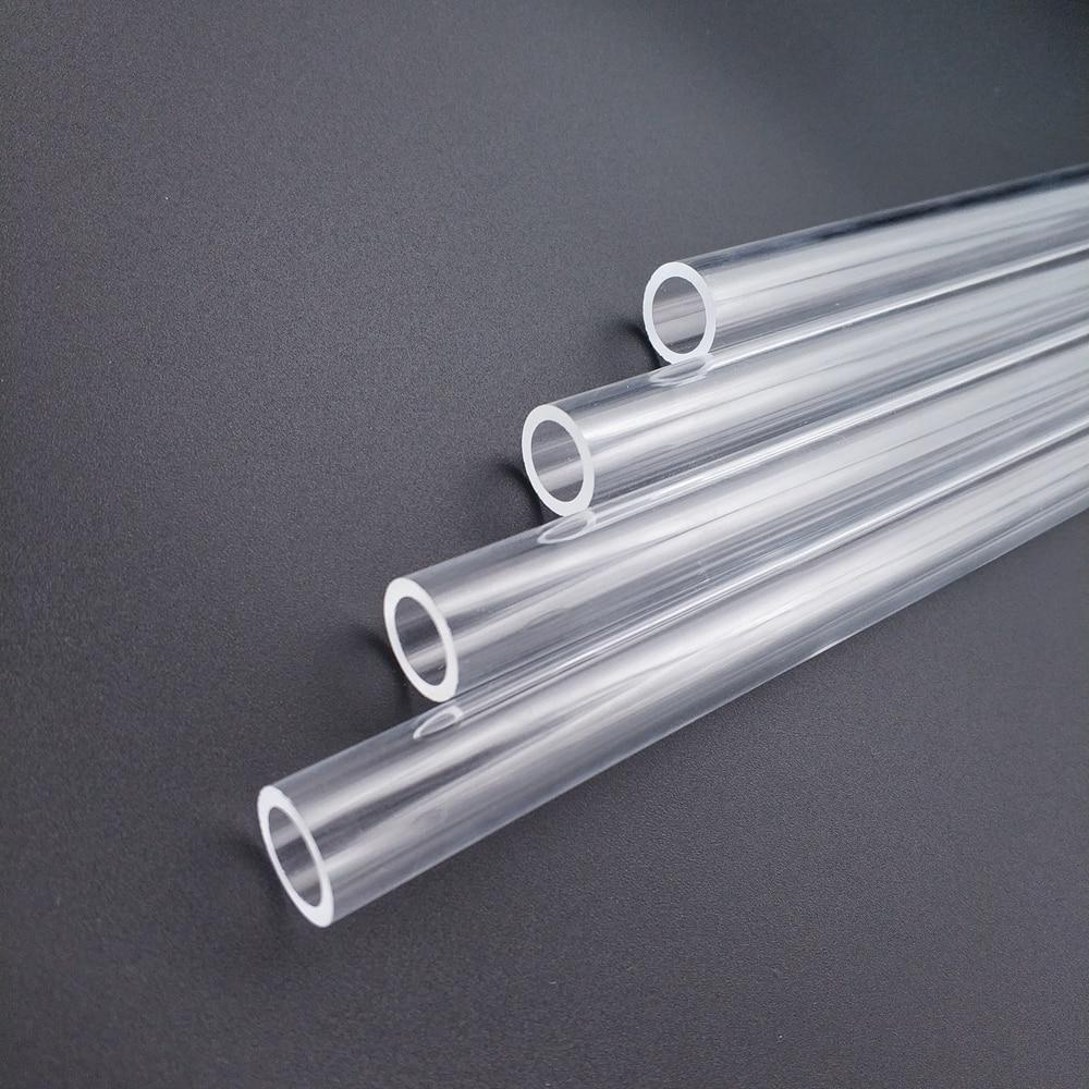 """רשימת הקטגוריות Tube בארתי PMMA / PETG הקשיח (OD12mm / OD14mm / OD16mm) + 2 מ""""מ עובי + 90 מעלות כיפוף צינור שקוף 4pcs / לוט (5)"""