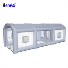 BenAo надувная покрасочная будка/покрасочная будка надувная Автомобильная покрасочная будка, Заказная надувная Автомобильная покрасочная будка палатка, гигантская надувная палатка