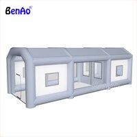 Benao надувные красильной/краска надувная палатка автомобильная краска стенда, пользовательские Прокат надувные спрей стенд палатки, гигант