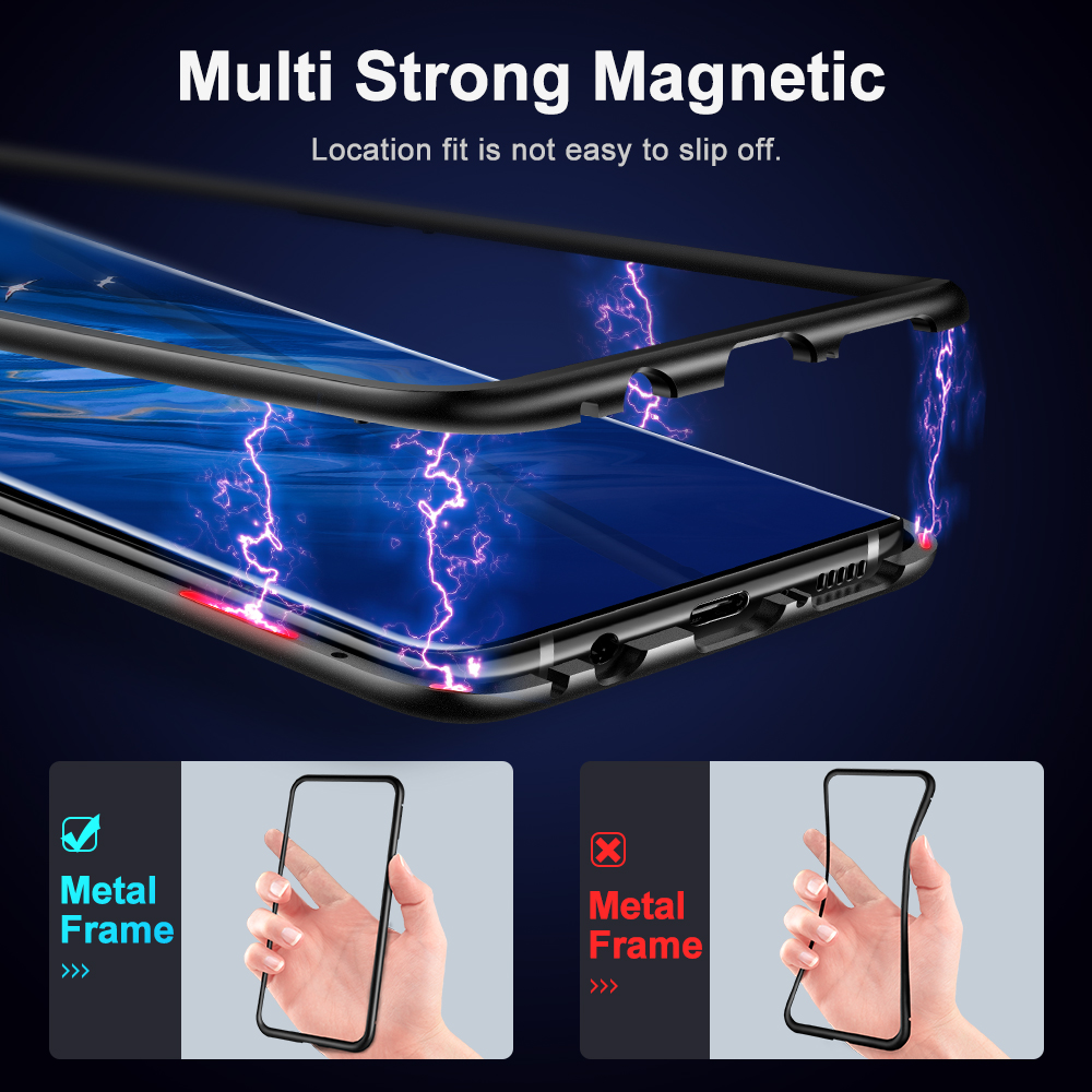 Magnetic Metal Case For Samsung Galaxy  1