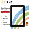 Srjtek para Asus Transformer Pad TF300T TF300 tf300tg G01 versión negro digitalizador de pantalla táctil Pantalla de Cristal 69.10I21. G01