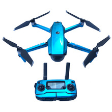 Флуоресцентный корпус пульта дистанционного управления полный комплект наклеек водонепроницаемый стикер для DJI Mavic 2 Pro/Zoom аксессуары для корпуса дрона