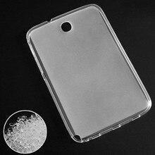GT N5100 N5110 N5120 чехол для samsung Galaxy Note 8,0 N5100 N5110 чехол 360 полный защитный мягкий TPU чехол Прозрачный задний Тонкий чехол s