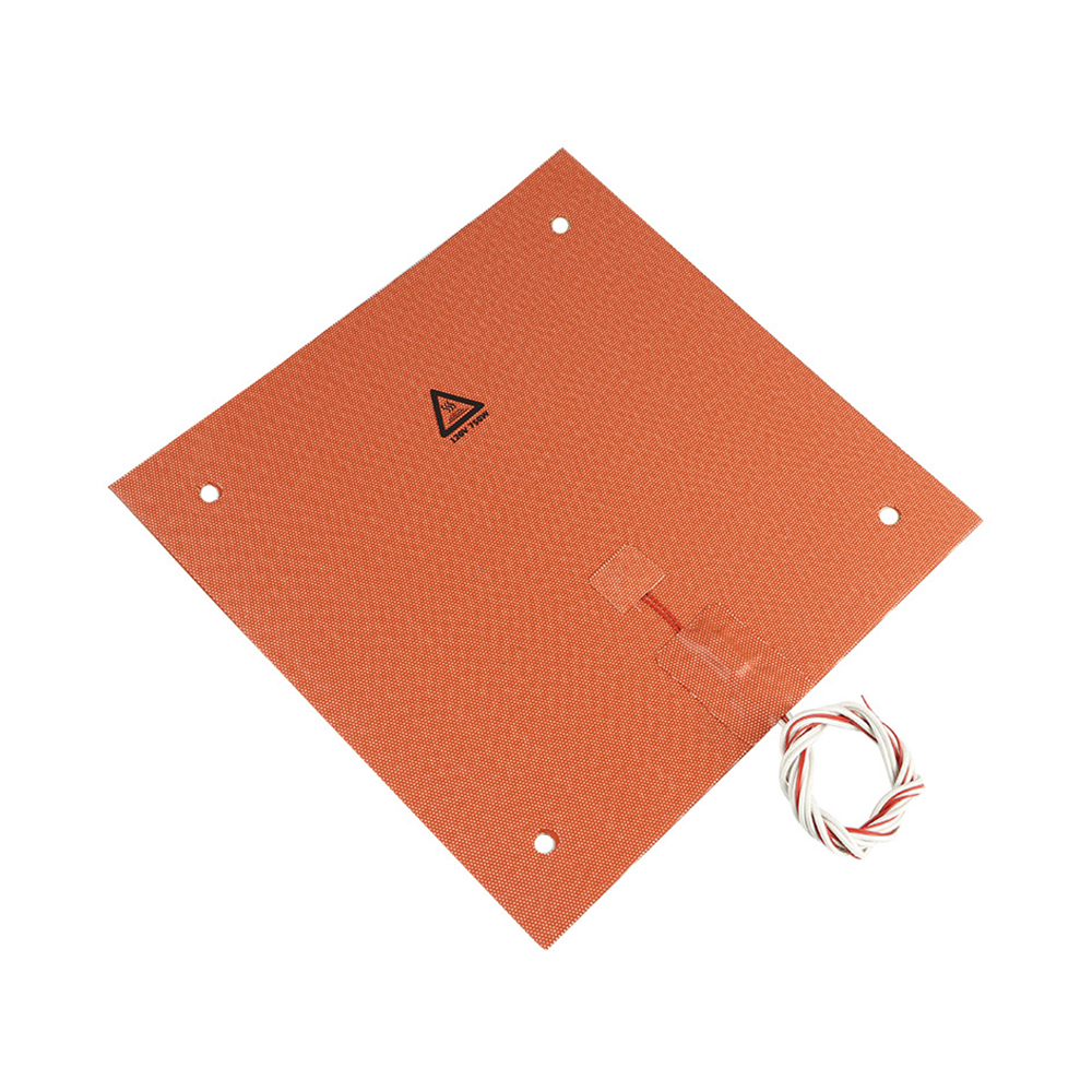 750w 220v 31*31 cm 3D Printer Parts & Accessories Silicone Heated Bed Orange Color Heating Pad For CR-10 3D printer Bed Holes750w 220v 31*31 cm 3D Printer Parts & Accessories Silicone Heated Bed Orange Color Heating Pad For CR-10 3D printer Bed Holes
