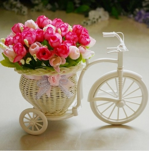 Artificial Flower Baskets Online : Buy wholesale wicker baskets plants from china