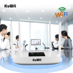 Image 5 - 300Mbps 4G Router Entsperrt 4G LTE CPE Wireless Router Unterstützung SIM Karte 4Pcs Antenne Mit LAN port Unterstützung Bis zu 32 Wifi Benutzer