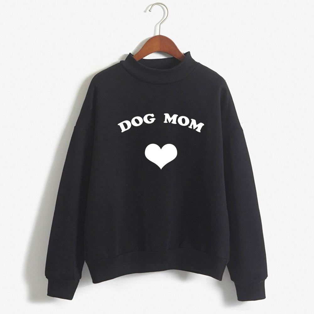 Chien maman Unisexe Hommes Femmes Animal Lover Slogan Fashion Paw Sweat Cool Cadeau