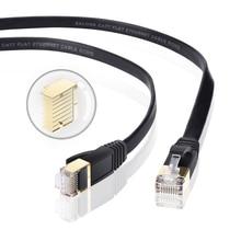 Cavo Ethernet Cat7 Lan Cavo UTP RJ45 Cavo di Rete rj45 Patch Cord 1 m/2 m/3 m /5 m/8 m/15 m/30 m per Router Del Computer Portatile Cavo Ethernet