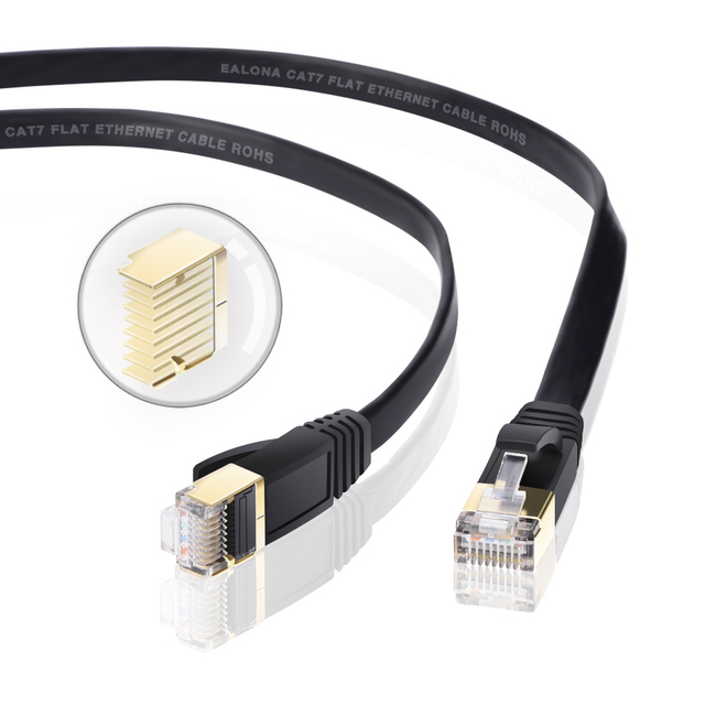 Ethernet Cable Cat7 Lan Cable UTP RJ45 Network Cable rj45 Patch Cord  1m/2m/3m/5m/8m/15m/30m for Router Laptop Ethernet Cable