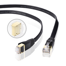 Kabel Ethernet Cat7 przewód LAN nieuczciwych praktyk handlowych RJ45 kabel sieciowy rj45 Patch Cord 1 m/2 m/3 m/ 5 m/8 m/15 m/30 m do routera na laptopa kabel Ethernet