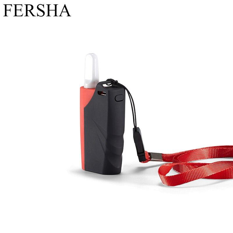 FERSHA mini e-cigarette kit For nicotine salt vape Third gear adjustment mod 650 mAh internal battery 1.5 ohm atomizer