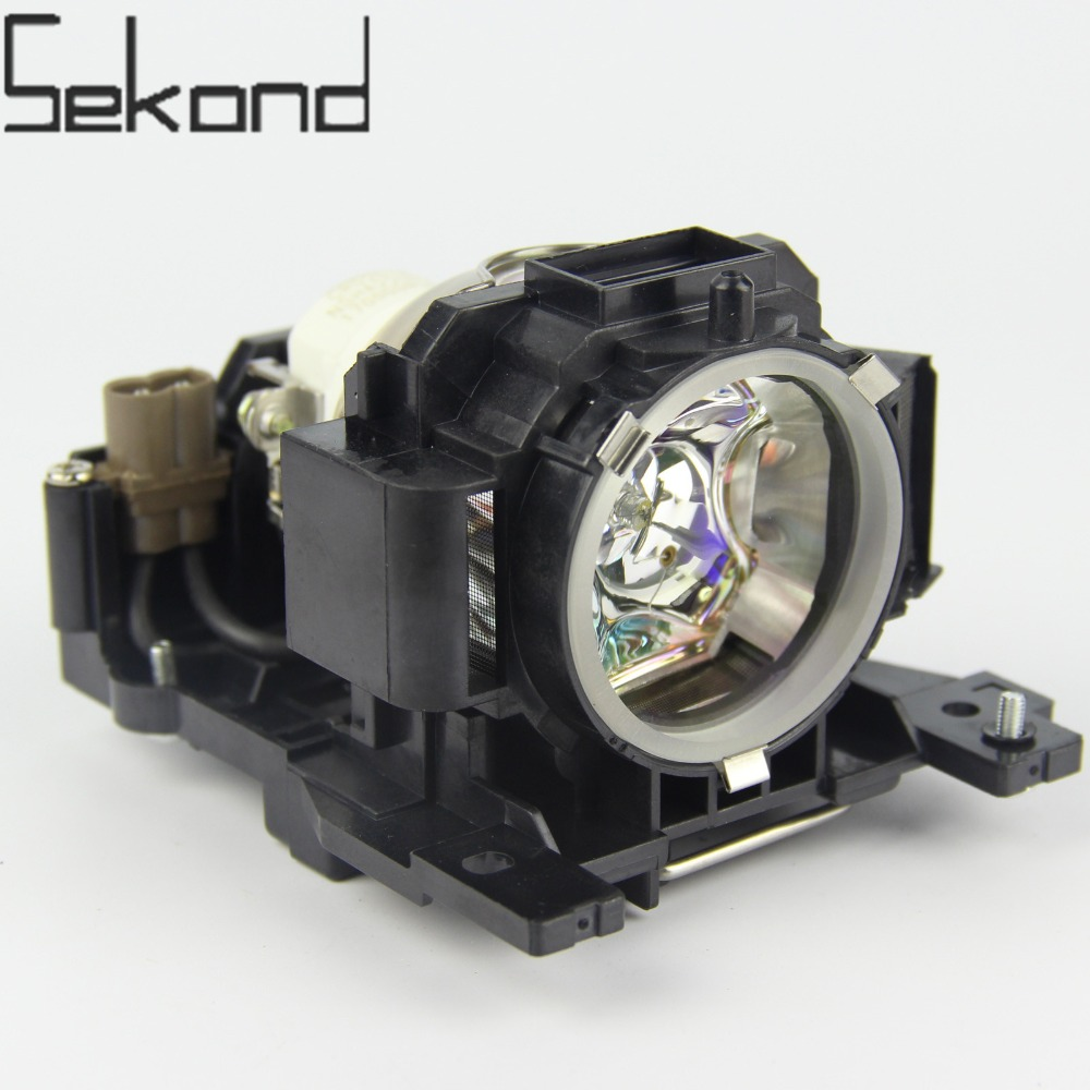SEKOND Original USHIO Bulb DT00891 Projector Lamp with Housing For Hitachi CP-A100 ED-A100 CP-A100 ED-A100J original projector lamp for hitachi cp hx1098 with housing