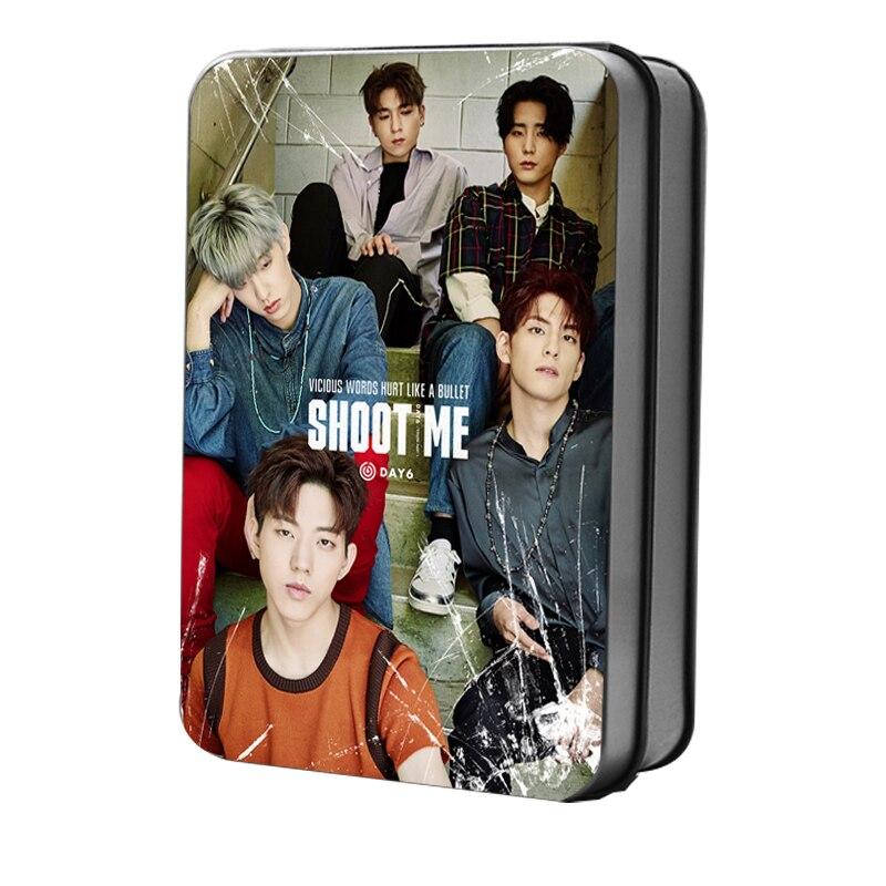 Kpop DAY6 Polaroid Lomo Photo Cards New Album Shoot Me