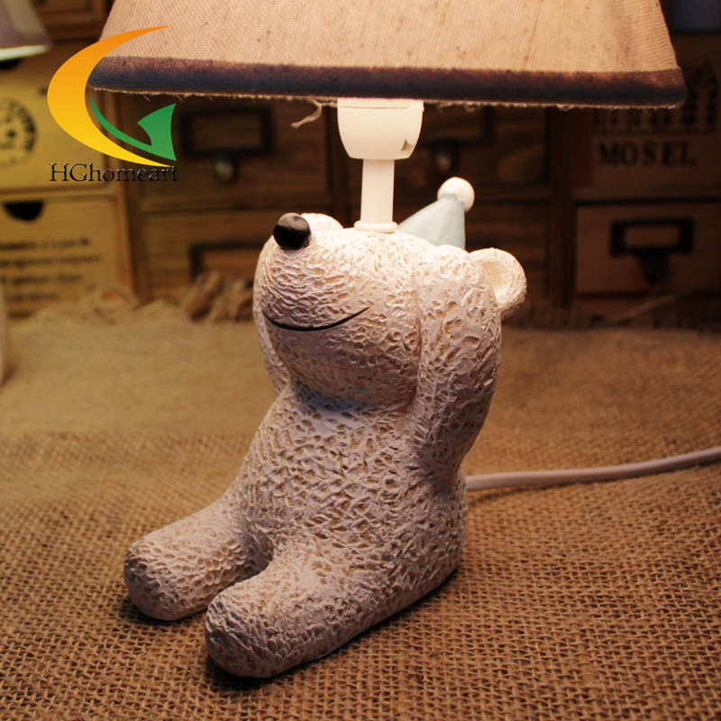 creative childrens room table lamp warm bedroom home decoration lovely gift ornament Table Lamp for kid