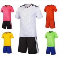 Football costume costumes hommes et enfants adulte football formation équipe uniformes acheter spéciale multi-couleur choix ZQF30