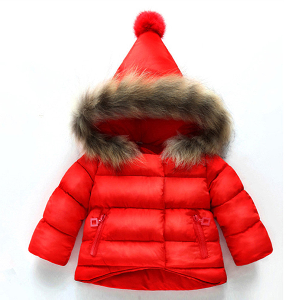 Reliable Muqgew Children Coat Kids Boys Girls Long Sleeves Hooded Top Clothes Pullover Jongens Winterjas Winter Clothes Sale Price Boys' Clothing Down & Parkas