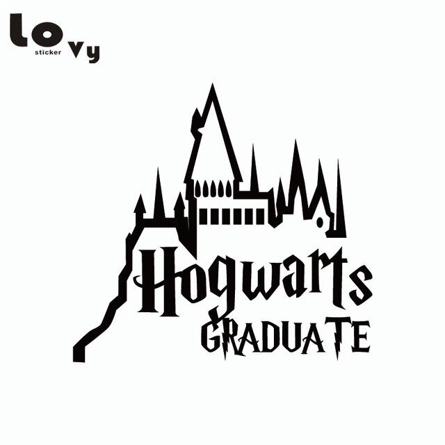 Clásico película Harry Potter etiqueta engomada del coche de dibujos ...