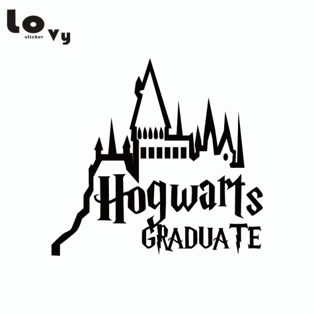 Classic Film Harry Potter Car Sticker Cartoon Hogwarts