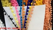 20meters/lot  Terylene Pom Pom Lace Trim for DIY Sewing Accessories - Free Shipping   недорого