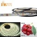 DC12V SMD2835 Alta CRI90 1116LM/M LED Faixa de Luz Branca Iluminação de Tira Flexível 60 LEDs de 12 W/M 8mm largura Branco PCB Não-impermeável