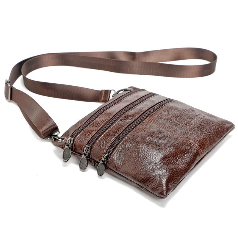 High Quality leather messenger bag