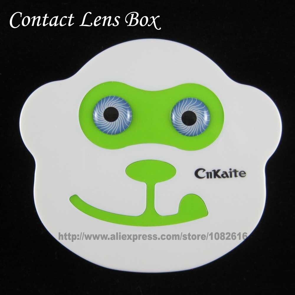 Niedlichen Affen Design Kontaktlinsenfeld Linsen Box Augen Fall ...