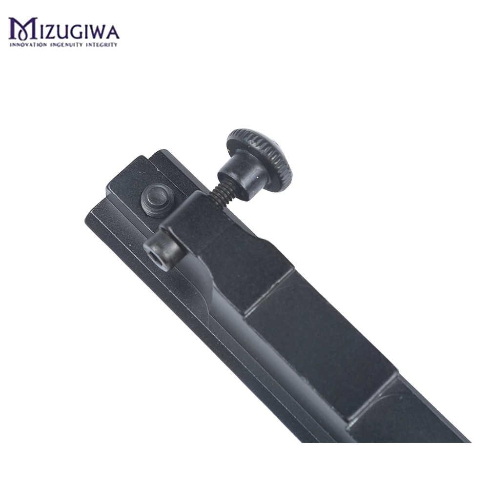 Mira para Rifle táctico Weaver Picatinny AR 98 K-98 K98 /Turkish VZ 24, Rifle explorador, soporte sobre riel para Mira con 13 ranuras para Caza