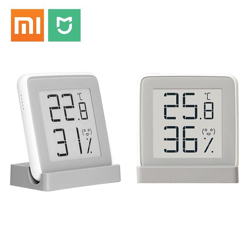Xiaomi Mijia крытый гигрометр Цифровой термометр Метеостанция Умные Электронные Температура Влажность сенсор измеритель влажности купить на AliExpress