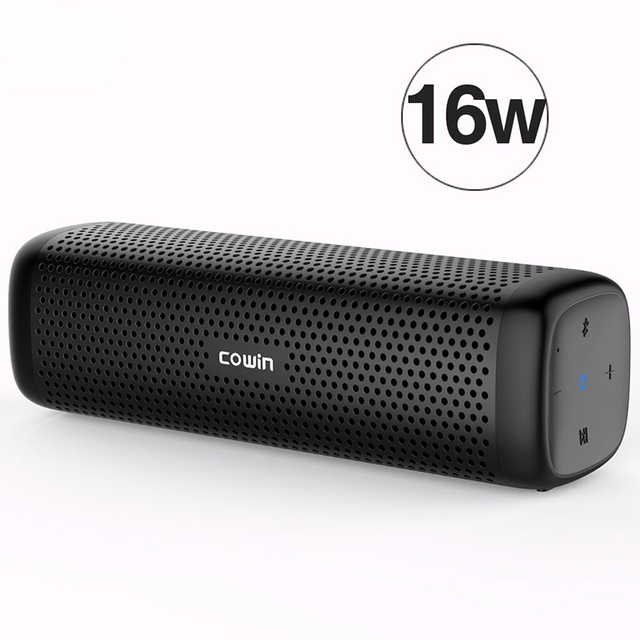 Bocina de columna Bluetooth impermeable portátil Mini estéreo Super bajo Soundbar Subwoofer caja de sonido manos libres para teléfono móvil