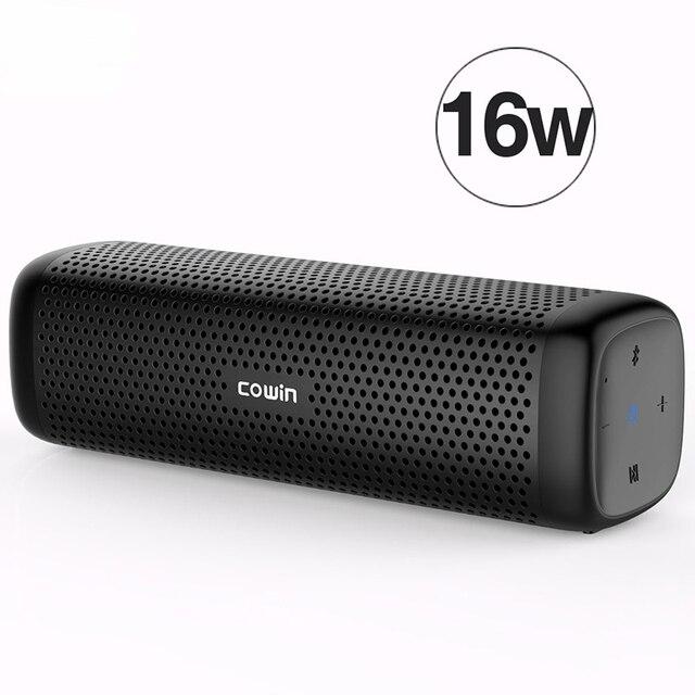 Cowin Column Bluetooth Speaker Waterproof Portable Mini Stereo Super Bass Soundbar Subwoofer Sound Box HandsFree For Cellphone