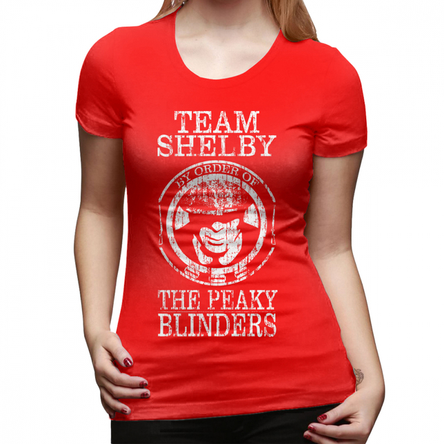 Peaky Paraocchi T SHIRT SHELBY in ordine di Brothers Regalo di Natale Donne Ragazze Top