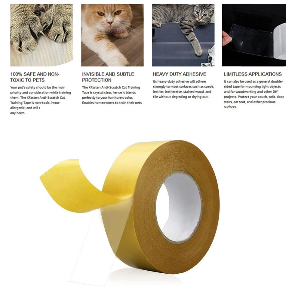 Cat Scratch Tape Training Claw Tape Anti Scratch Strong Adhesive No Odor Safe Non Toxic Cat Tape For Home Furniture Protection Furniture Scratchers Aliexpress
