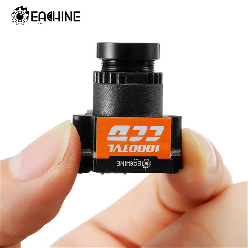 Original Eachine 1000TVL 1/3 CCD 110 Degree 2.8mm Lens Wide Voltage 5-20V Mini FPV Camera NTSC PAL Switchable For RC Multicopter new arrival eachine ccd 700tvl 148 degree camera lens with 5 8g fpv transmitter for pfv system