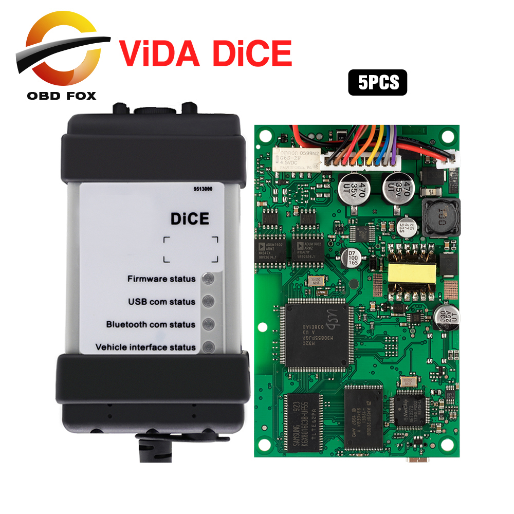 For VOLVO vida dice full chip 2014d pro diagnostic tool vida dice for volvo code reader scanner blue pcb 5pcs/lot DHL free-in Car Diagnostic Cables & Connectors from Automobiles & Motorcycles    1