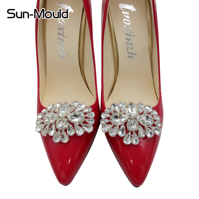 Daily shoes flower charms bridal high heel pumps accessories daily shoes flower charms bridal high heel pumps accessories crystal diamond shoe clips fashion wedding junglespirit Image collections