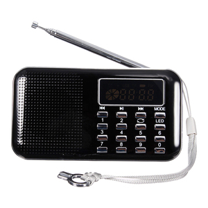 Image 3 - Mini Radio FM Portatile Digitale Speaker USB Micro SD TF Card Mp3 Music Lettore
