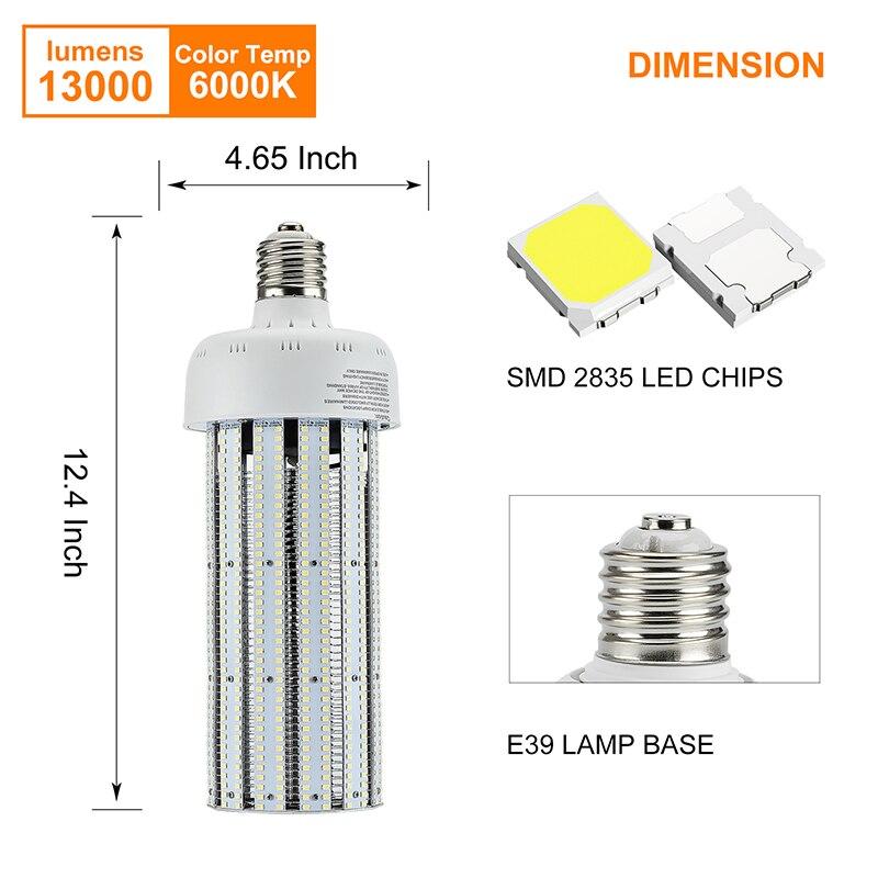 NS 100W E39 E40 LED Lights Warm Pure White light 110V 220V For Office Garden Street Lamp Replace 400W Halogen lamp