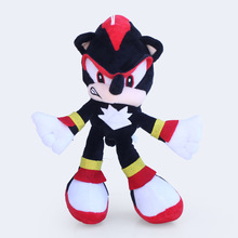 1pcs Sonic Plush Toy Doll 30cm Sonic The Hedgehog & Black Shadow the Hedgehog Plush Stuffed Toys for Children Kids Xmas Gift