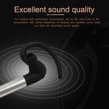 Bluetooth Headset Noise Canceling Earbud Wireless Car Earpiece with Mic Workout Business Earphone Sweatproof for Sports Running