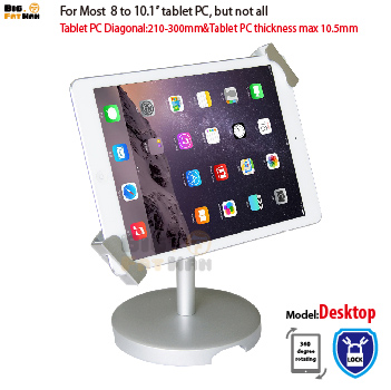 Universal Tablet Holder for 8-10 inch tablet pc stand security holder for ipad 2 3 4 air samsung desktop display support universal pu leather case for 9 7 inch 10 inch 10 1 inch tablet pc stand cover for ipad 2 3 4 air 2 for samsung lenovo tablets