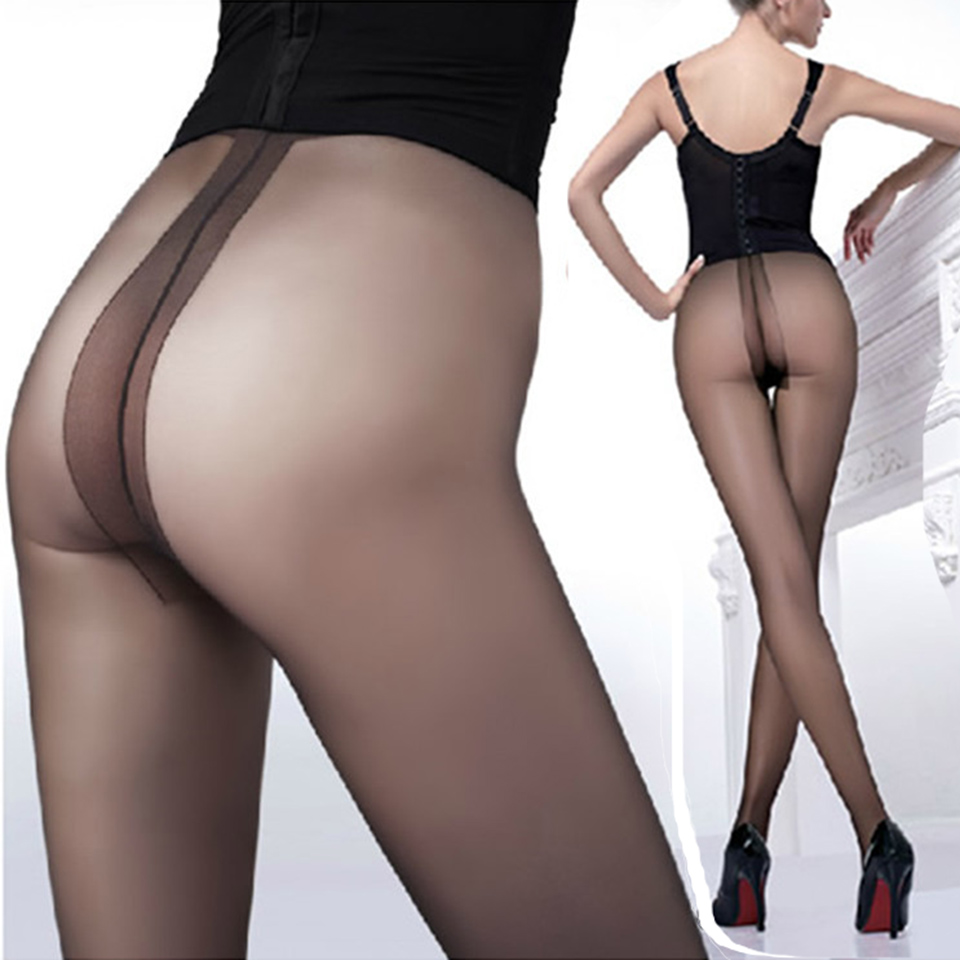 Sexy tights t ultra thin womens tights core spun yarn pantyhose women crotch rompers stockings womens tights