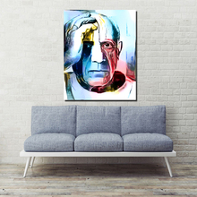 Pablo Picasso Illustration Canvas Painting Print Living Room Home Decoration Artwork Modern Wall Art Oil Painting Poster Picture self portrait facing death pablo picasso canvas painting living room home decoration modern wall art oil painting poster picture